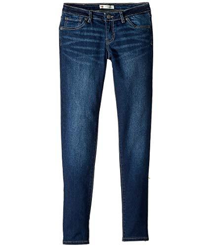 Levi's Girls' Big 710 Skinny Fit Jeans, Atomic, 16