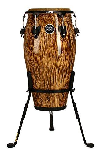 Meinl Percussion MCC1134LB Marathon Classic Designer Series 11 3/4-Inch Conga, Leopard Burl by Meinl Percussion