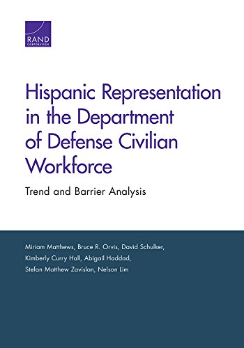 Hispanic Representation in the Department of Defense Civilian Workforce: Trend and Barrier Analysis