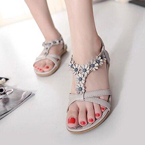 SUNAVY - Zapatos de tacón  Mujer gris