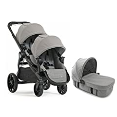 The City Select LUX converts from a single to double stroller, so your growing family is always ready for any adventure. It has the most riding options or any single to double stroller, with over 20 configurations total. That's over 25% more ...