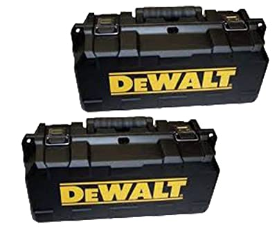 DeWALT D28110/D28402 Angle Grinder 2 Pack Replacmnt Carrying Case# 651196-00-2pk