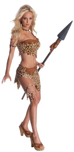 Secret Wishes Womens Tarzan Jungle Jane Costume, Leopard, (Adult Tarzan Costume)