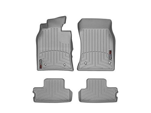 - Weathertech 461371-461362 Front and Rear Floorliners