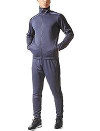 Men s Tiro Track Suit 3 Stripes Tracksuit Trace Blue/Navy