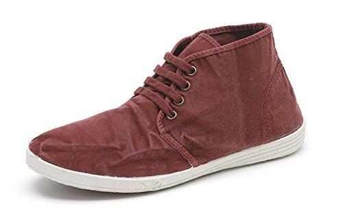 Vegan Eco per Uomo Sneakers Natural Lacci in 620 in Disponibile Classico Colori Modello Stile con 306E Tela Scarpa Vari World XqS5I