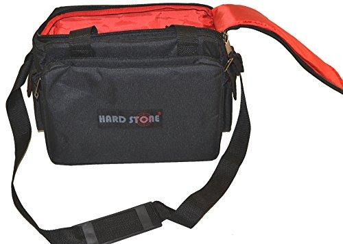 Hardstone Tactical 5 Pistol Range Go Bag With Adjustable Shoulder Strap Black