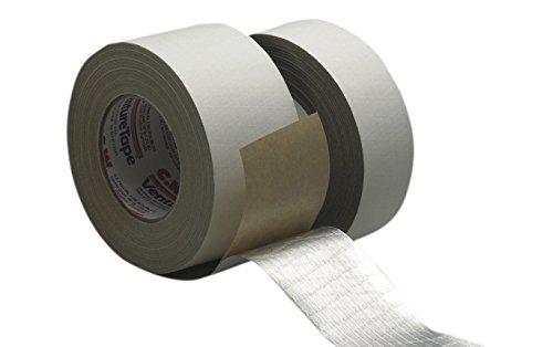 3M Venture Tape ASJ Facing Tape 1540CW White, 72 mm x 45.7 m (Pack of 16)