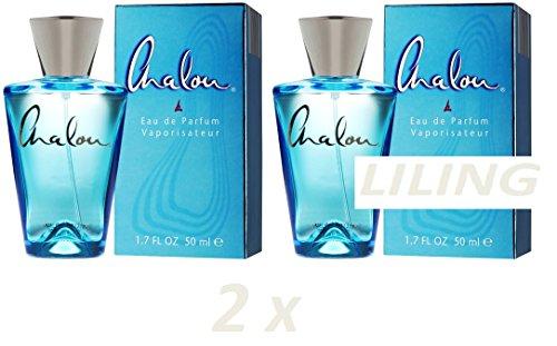 New Two bottles CHALOU Eau De Parfume Blue 50ml Parfum wo...