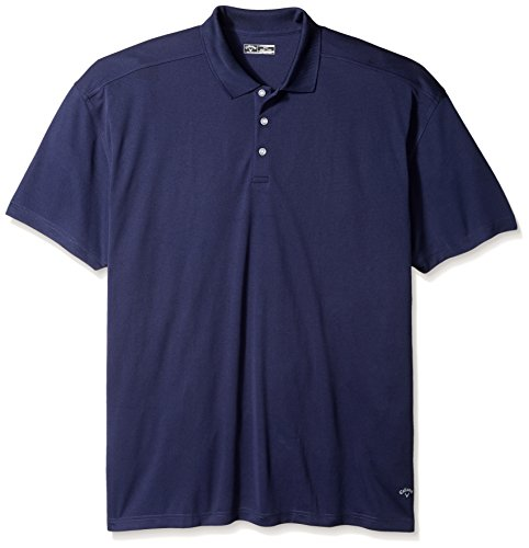 - Callaway Men's Big & Tall Golf Performance Short Sleeve Polo Shirt, Peacoat, 4X-Large Tall