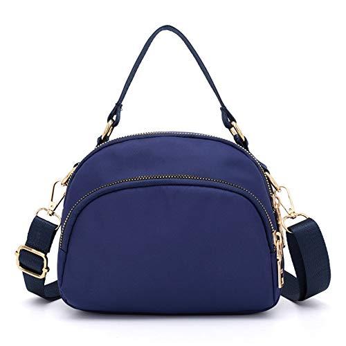 Blue Handbags Anti splash Women Purse Crossbody bag Pocket Tote Shoulder Messenger Bags Badiya Multi Water Z6xwRRP