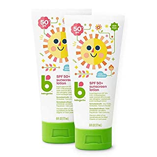 Babyganics Sunscreen Lotion 50 SPF, Packaging May Vary,6 Fl Oz (Pack of 2)