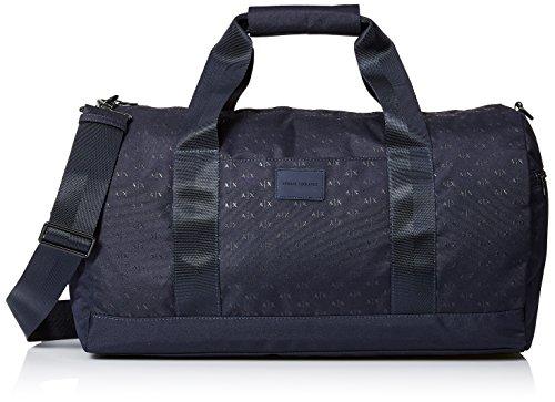 Armani Exchange Men's Allover Logo Duffle, - Mens Bag Armani