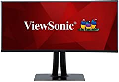 With an immersive curved screen and stunning WQHD+ 3840x1600 resolution, The ViewSonic VP3881 monitor elevates your viewing experience from flat to panoramic. Delivering incredible detail and vivid colors across wide viewing angles, this moni...