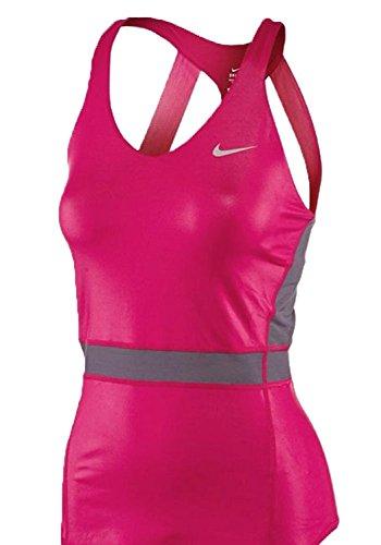 Nike Womens Dri-Fit Premier Maria Sharapova Tennis Tank Top Fuschia Pink Pink