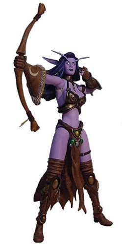 Warcraft Shandris Feathermoon Night Elf Archer Figure