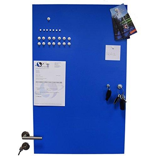 NEU im Angebot     Eisenfolie - Ferrofolie BLAU selbstklebend 620 x 1000 x 0,8mm - Meterware  Haftgrund für Magnete bc1112