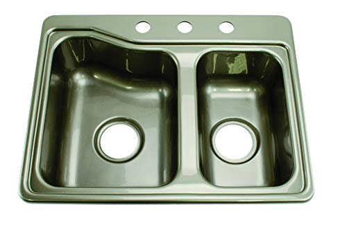 Lippert 209586 Better Bath RV Double Sink 25