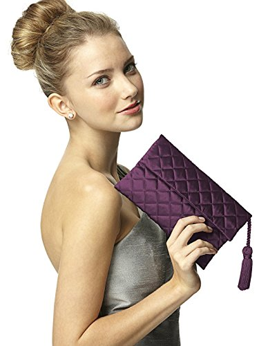 Quilted Evening Clutch - 5