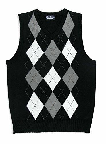 (Blue Ocean Kids Argyle Sweater Vest-18/X-Large )