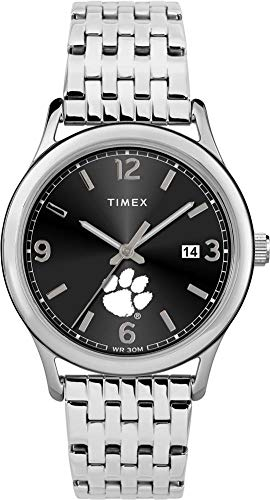 (Timex Women's Clemson University Tigers Watch Sage Stainless Watch)