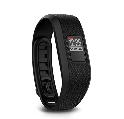 Garmin vivofit 3 Activity Tracker, Regular fit - Black (Certified Refurbished)