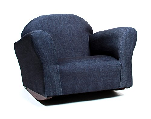 - KEET Bubble Rocking Kid's Chair, Denim