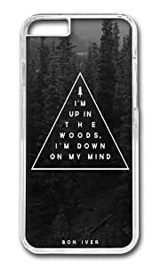 Apple Iphone 6 Case,WENJORS Awesome Woods Bon Iver Hard Case Protective Shell Cell Phone Cover For Apple Iphone 6 (4.7 Inch) - PC Transparent
