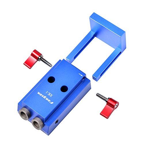 SHUOGOU Mini Pocket Slant Hole Jig Kit + 9.5mm Step Drilling Bit Dowelling Jig Wood Work Tool Set by SHUOGOU (Image #4)