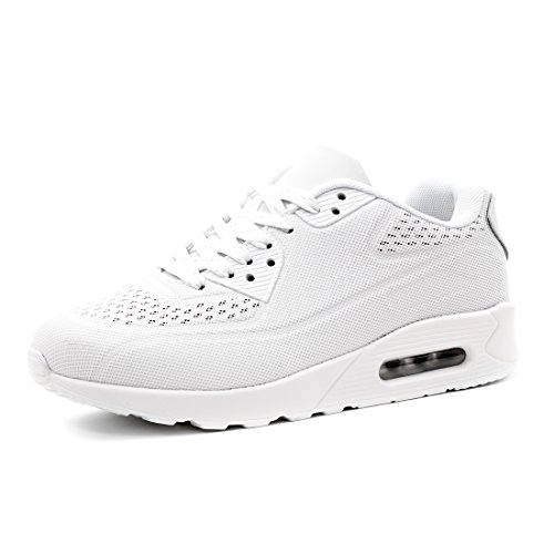 Fitness Damen All Turnschuhe Herren Sneaker White Schnür Unisex Laufschuhe Sport YOdFYwq