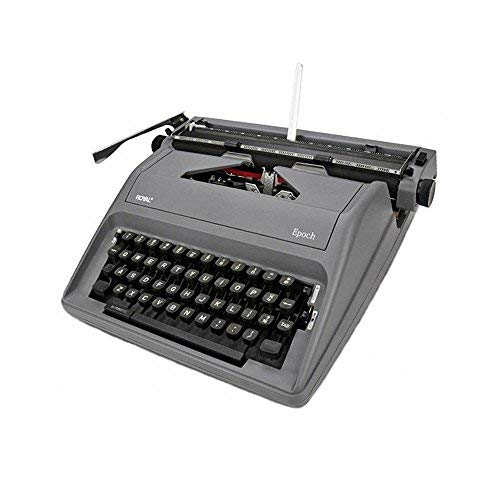 Manual Typewriter Gray