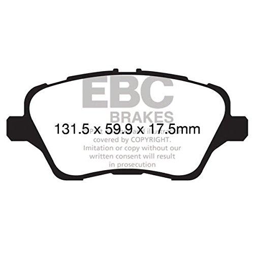 EBC Brake DP42149R Pastiglia Freni per Uso Stradale e Trackday Yellowstuff 4000 Series