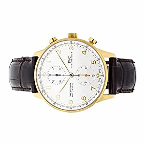IWC Portuguese automatic-self-wind mens Watch IW371416 (Certified Pre-owned)