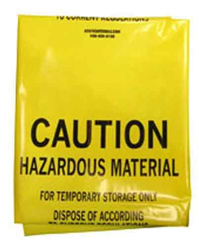 SAS Safety 7760 48-Inch by 30-Inch Hazardous Material Storage Bag by SAS Safety