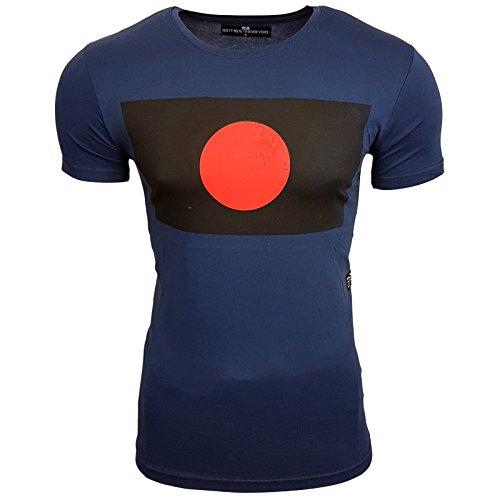Rusty Neal Herren T-Shirts T-Shirt blau blau S