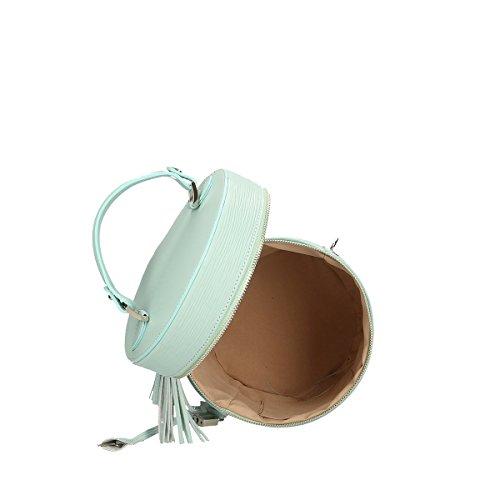 Chicca Borse Piel genuina hombro bolso 20x24x20 Cm puerto pequeño