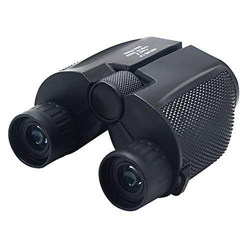 10x25 Binoculars for Adults,Compact Binoculars for Bird Watching,Great for Outdoor Activ Concerts Hiking Travel and Stargazing Hunting etc.Waterproof & Low Light Night Vision-for Adults&Kids (Black)