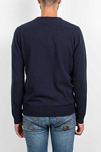 Woolrich Wool Sweater Blu Uomo Blue Maglione 6123w Men ZxrpXZ