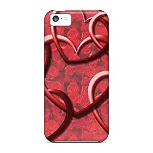 New Arrival Linked Hearts WmJFGhV8026XaktG Case Cover/ 5c Iphone Case