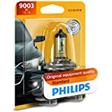 Philips 9003B1 Standard Halogen Headlight Bulb,1 Pack