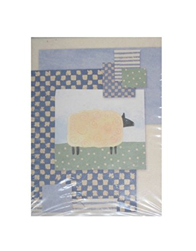 - American Greetings Designer Collection Sheep Note Cards & Envelopes - Blank Inside - 20 Count