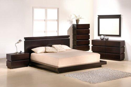 expresso bedroom set - 7