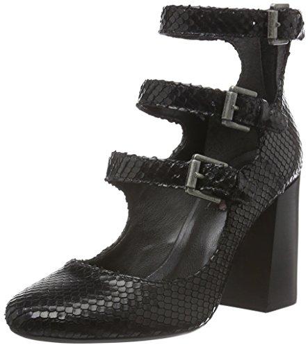 Bronx Aleza 74957-C - Zapatos de tacón para mujer Negro (black 01)