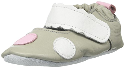 Price comparison product image ShooShoos Girls' Candy Coated Raindrops-K, Gray/Pink/White/Black, Large (4-5 M US Toddler)