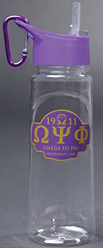 Omega Psi Phi Fraternity 24oz. Water Bottle by keleafrica