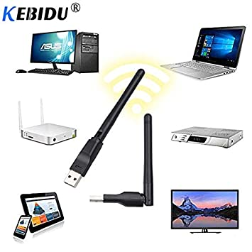 MT7601 USB WiFi Wireless Adapter Antenna Network 2.4GHz Digital 150Mbps Dongles