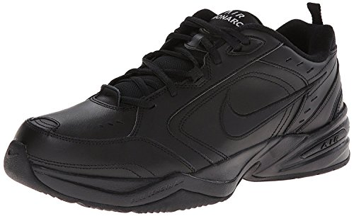 Nike Mens Air Monarch IV Training Shoe, negro/negro, 44 4E EU/9 4E UK