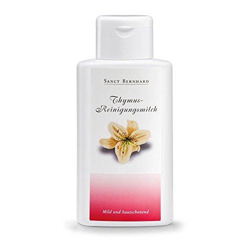 Thymus-Reinigungsmilch mit Mandelöl, Collagen 250 ml
