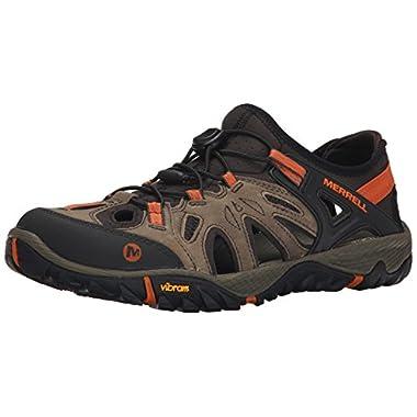 Merrell Men's All Out Blaze Sieve Water Shoe, Light Brown, 12 M US