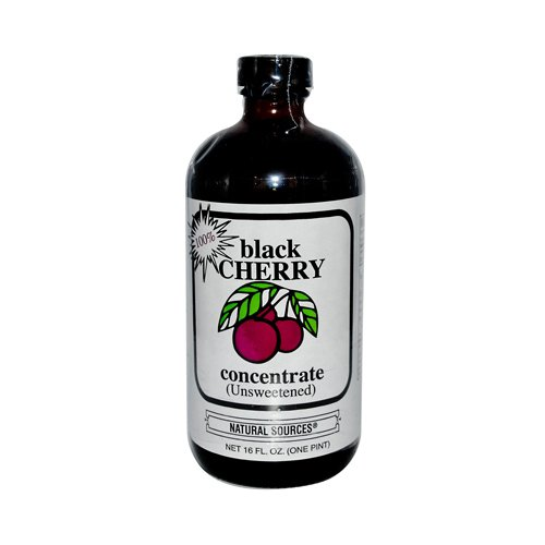 Natural Sources Inc Concentrate, Black Cherry, 16-Ounce Blend Concentrate